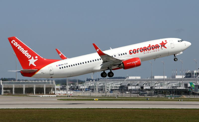 foto. Corendon Airlines