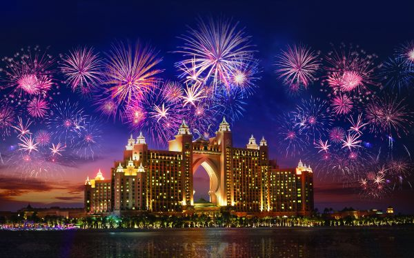 Atlantis, The Palm Fireworks, Foto. VisitDubai