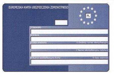 Karta Ubezpieczenia Europa.Europejska Karta Ubezpieczenia Zdrowotnego Na Wakacje Podroze I