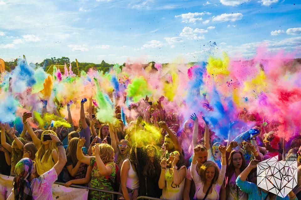 Znalezione obrazy dla zapytania festiwal kolorów