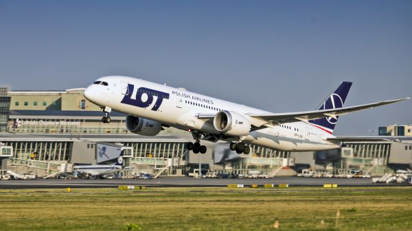 LOT. B789 LOT Dreamliner Start,fot. LOT